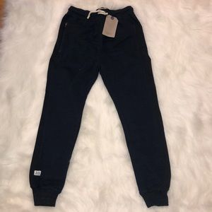 Zara size 10 navy joggers NWT !!special pricing!!